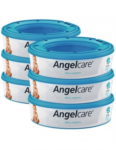 ANGELCARE NAVULCASSETTES 3X ROUND REFILL
