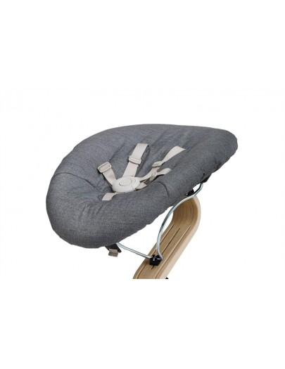 NOMI BABY BASIS WHITE/ BABY MATRAS DARK GREY/SAND