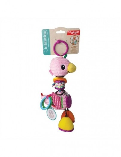 GO-GAGA  PLAYTIME PAL FLAMINGO