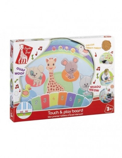 SOPHIE LA GIRAFE TOUCH AND PLAY BOARD