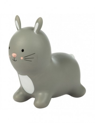 TRYCO SKIPPYDIER FLUFFY THE RABBIT LIGHT GREY/ WHITE