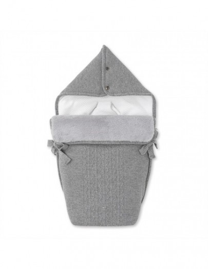 FIRST ENDLESS GREY ENGELNEST VOOR KINDERWAGEN
