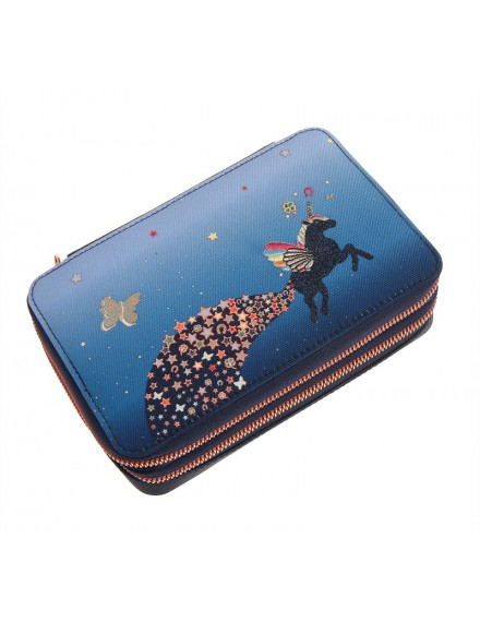JEUNE PREMIER UNICORN UNIVERSE PENCIL BOX FILLED