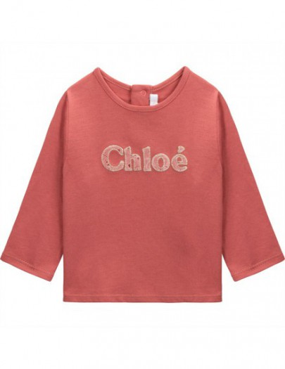 CHLOE T-SHIRT LM VINTAGE ROSE