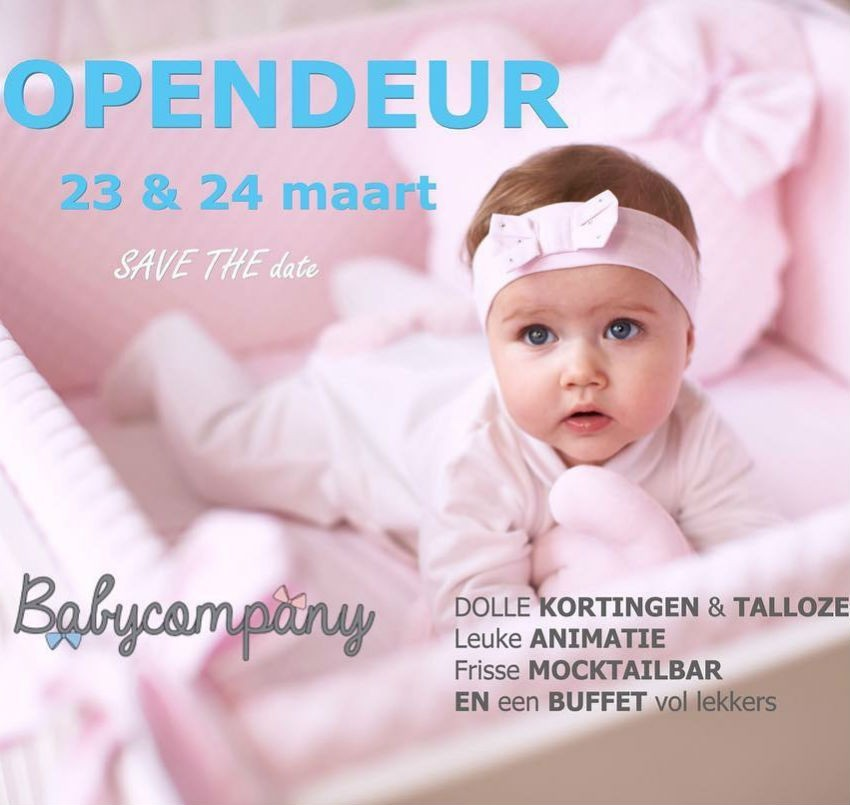 OPENDEUR Babycompany Roeselare