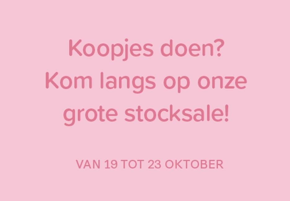 Stocksale!